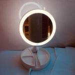Зеркало с подсветкой для макияжа: как выбрать, топ лучших