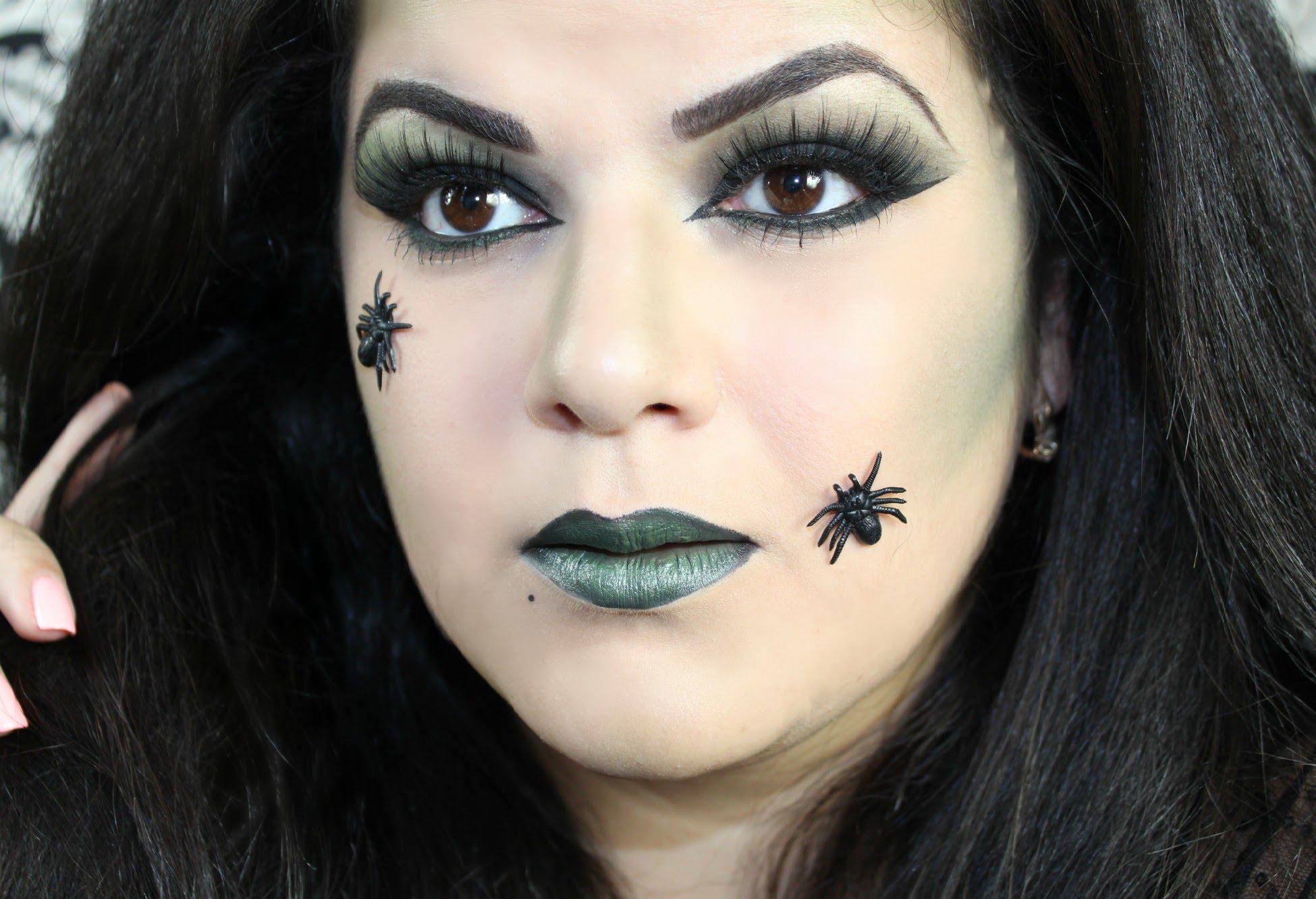 Красивый макияж ведьмы: как сделать, пошаговое видео