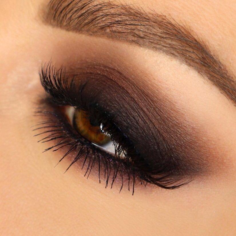 Макияж с коричневыми тенями: как сделать