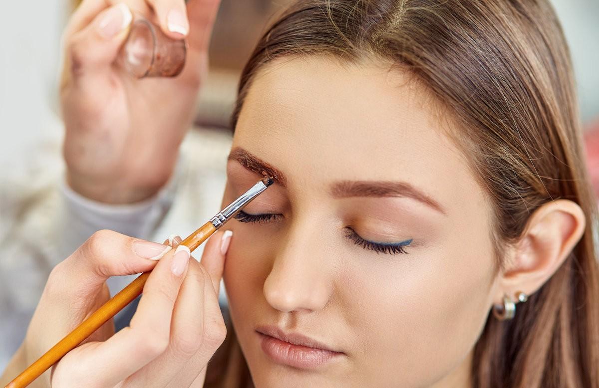 Как правильно красить брови хной: пошагово с фото и видео