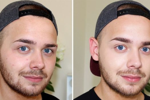 Мужской макияж: как сделать, фото до и после