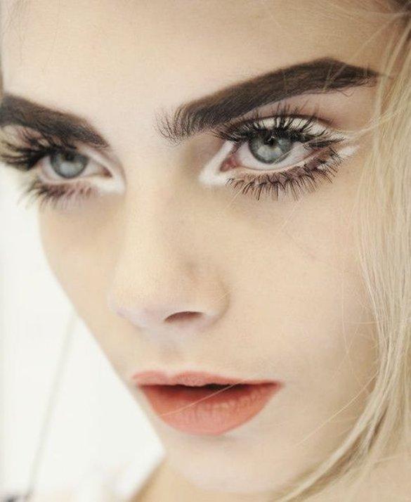 Белая подводка для глаз: как сделать макияж, рейтинг лучших белых подводок