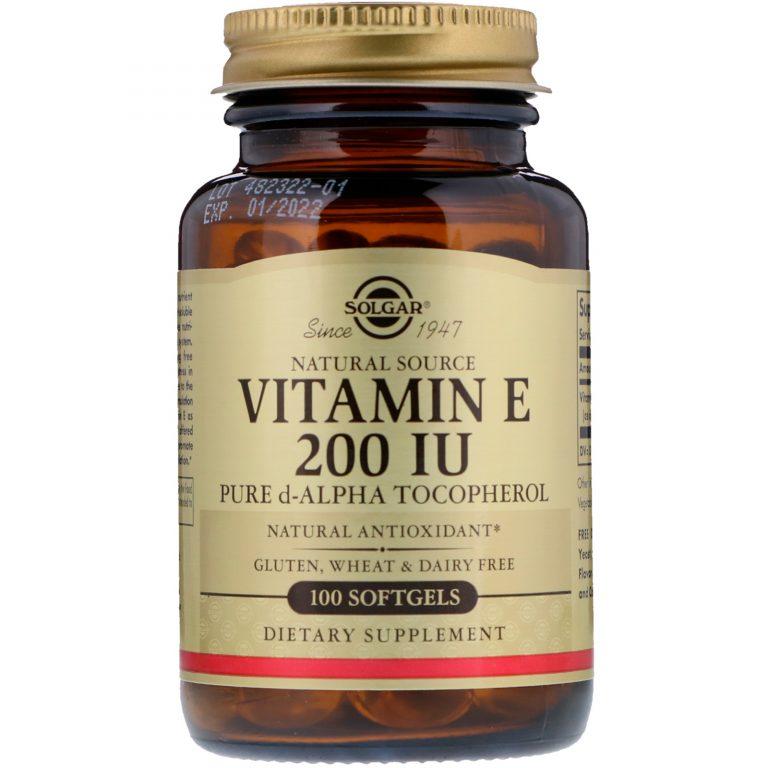 Лучшие капсулы витамина Е для лица, как правильно применять