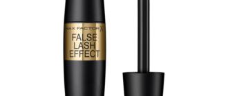 Обзор туши для ресниц Max Factor False Lash Effect