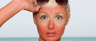 Как удалить загар с лица и кожи
