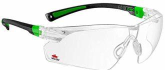 прозрачные защитные очки